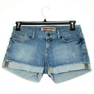 GAP Jeans Size 4 Roll Up Short Shorts